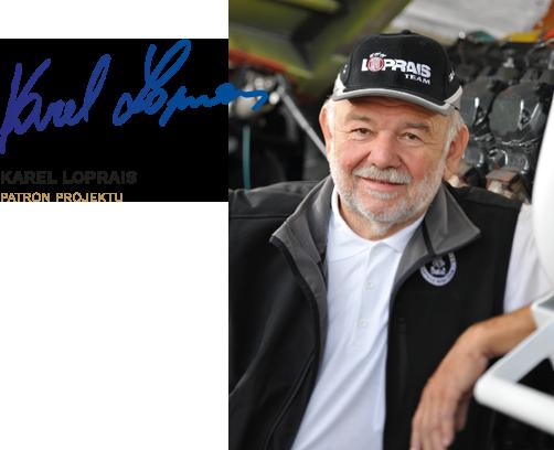 Karel Loprais partner projektu
