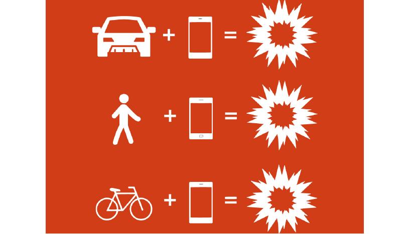 Nevěnování se řízení – fenomén doby (riziko telefonovaní)