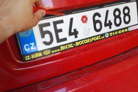 Povinná třetí registrační značka na nosiči kol? Mýtus!